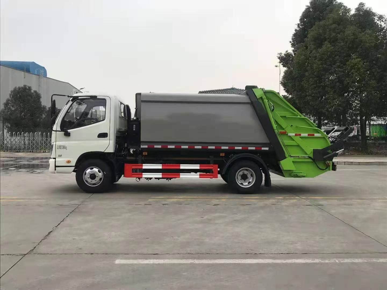 国六福田6方压缩垃圾车厂家直销价格报价图片视频图片
