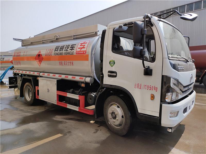 新款国六8吨油罐车_小型油罐车_8.5方加油车质量保证 视频视频