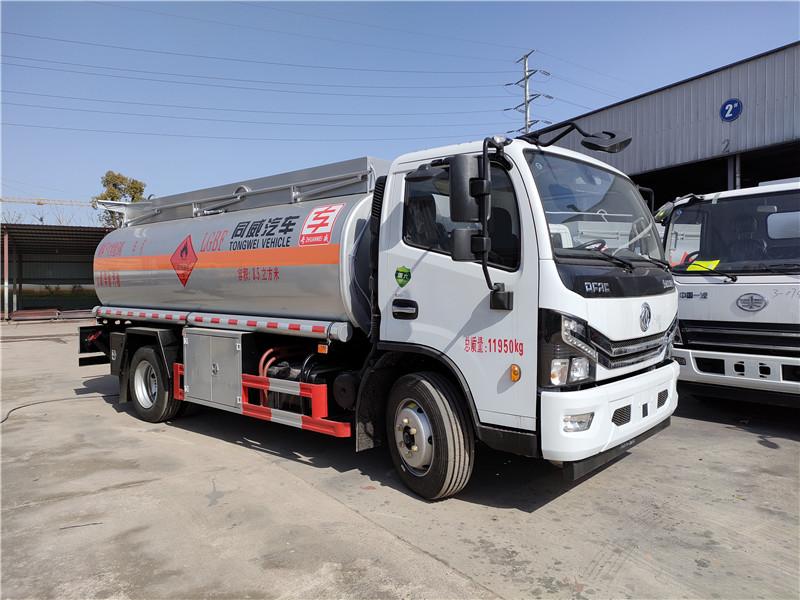 国六8吨油罐车现车供应 同威8.5方加油车包上户 全国联保视频