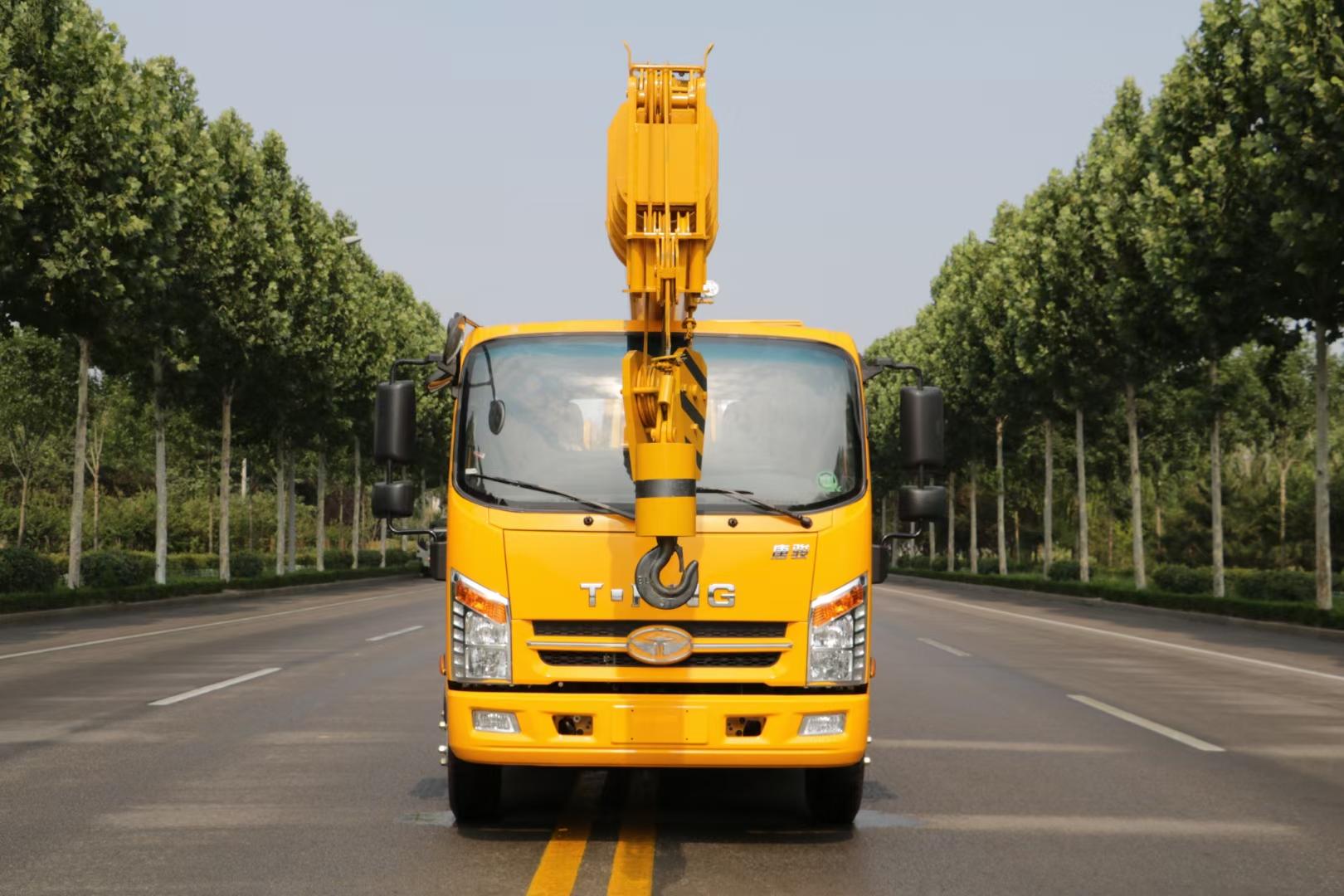國六8噸唐駿汽車吊隨車吊圖片