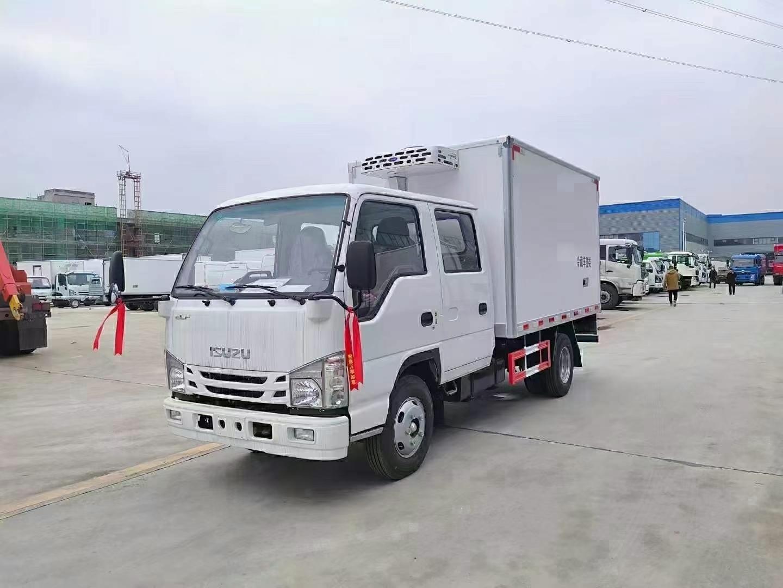 國六慶鈴五十鈴100p雙排冷藏車圖片