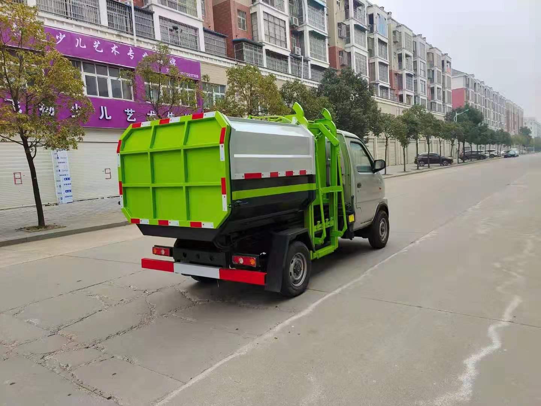 国六昌河勾臂垃圾车哪里有卖?图片
