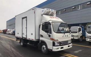 國六江淮駿鈴V5藍牌冷藏車圖片