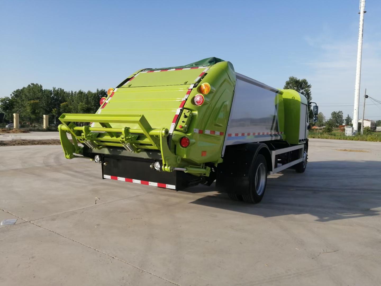 純電動8噸壓縮垃圾車圖片