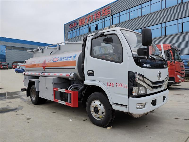 程力威牌4.36方加油車 國六東風多利卡5噸油罐車包上戶圖片