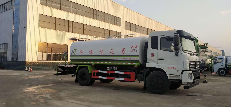 國六東風抑塵車30米霧炮車價格多功能灑水車220馬力廠家圖片圖片