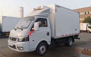 国六东风途逸柴油冷藏车图片