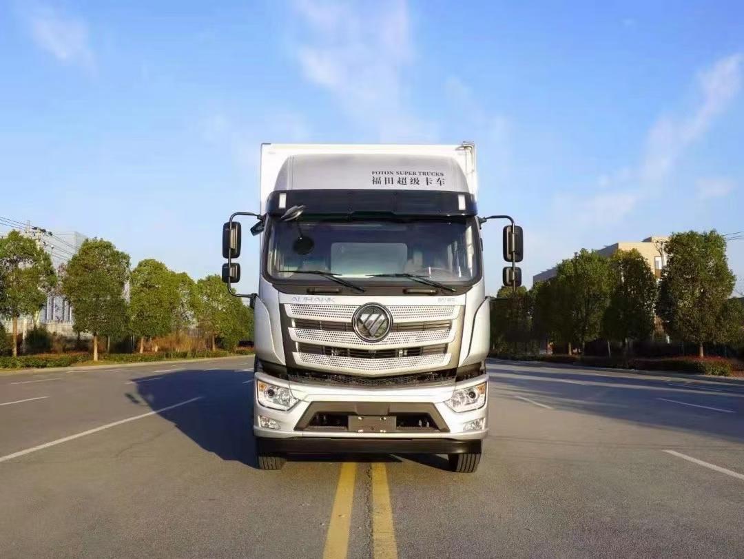 福田EST超级卡车系列国五9米6大型冷藏车图片