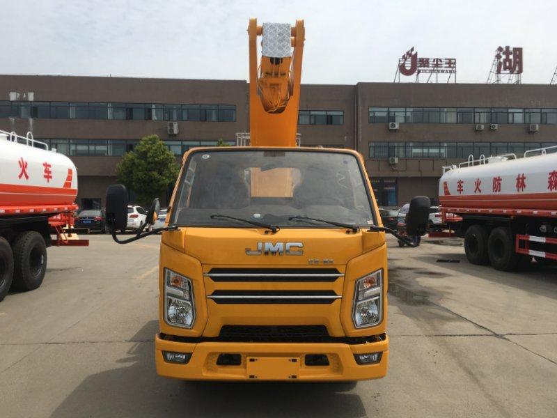 21米直臂高空作業車 客戶用車反饋視頻視頻