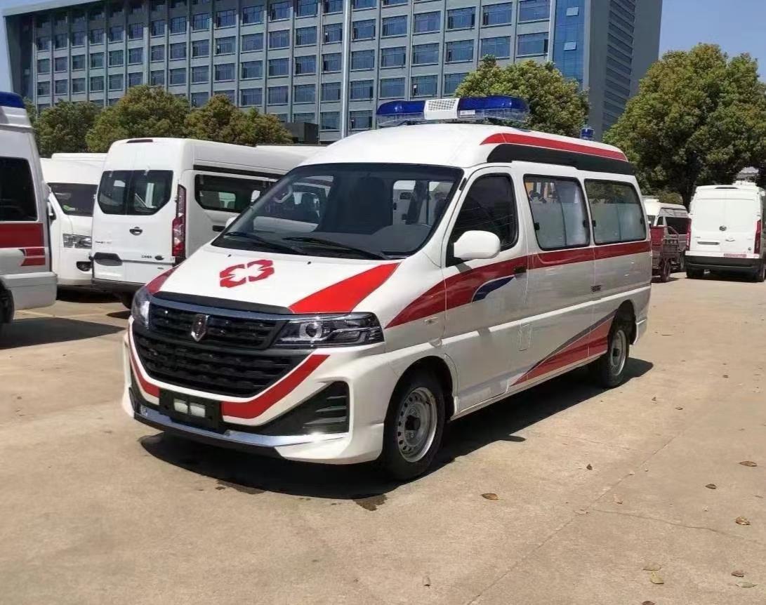 海狮王救护车图片