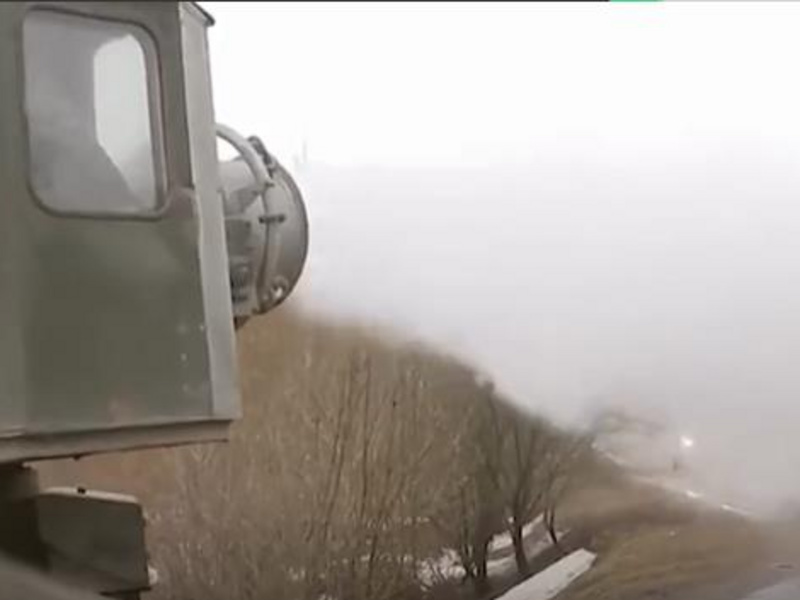 俄羅斯勝利日大閱兵霧炮車上陣消毒