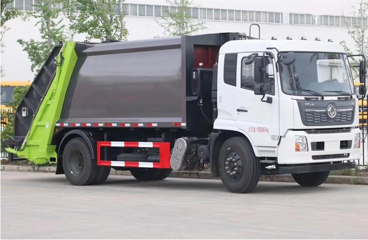 厂家供应高端14方东风天锦压缩垃圾车图片