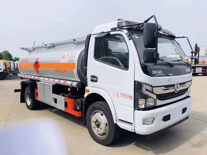 楚胜牌国六东风凯普特8.5方加油车配置,玉柴190马力全新上市国六8吨流动加油车