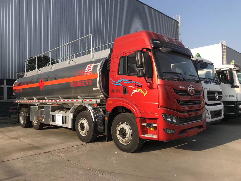 解放20吨油罐车!图片