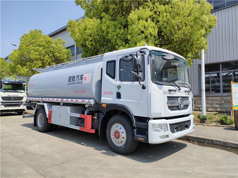 国六东风D9洗井液15吨普货供液车额载10吨 可上个人户视频