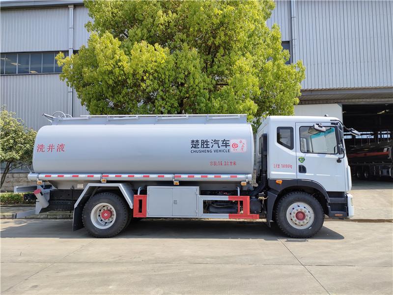 国六东风D9大多利卡10-15吨供液车可以上个人户 楚胜牌普通液体运输车厂家报价