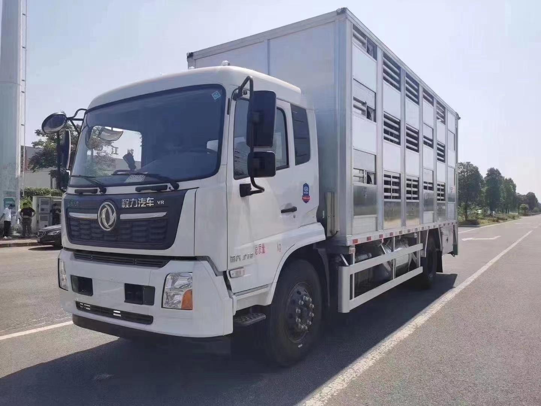 国六天锦养殖场专业高端运猪车厂家价格图片