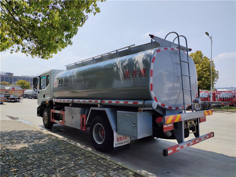 国六东风D9洗井液车 10吨15吨大型液罐车厂家直销 16.3方减水剂供液车价格优惠