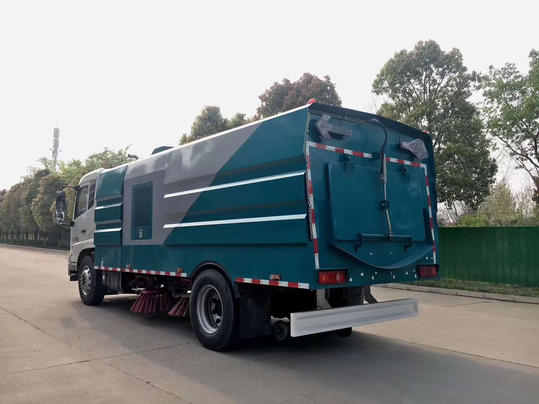 楚胜10吨东风天锦洗扫车国六排量厂家包上户可分期