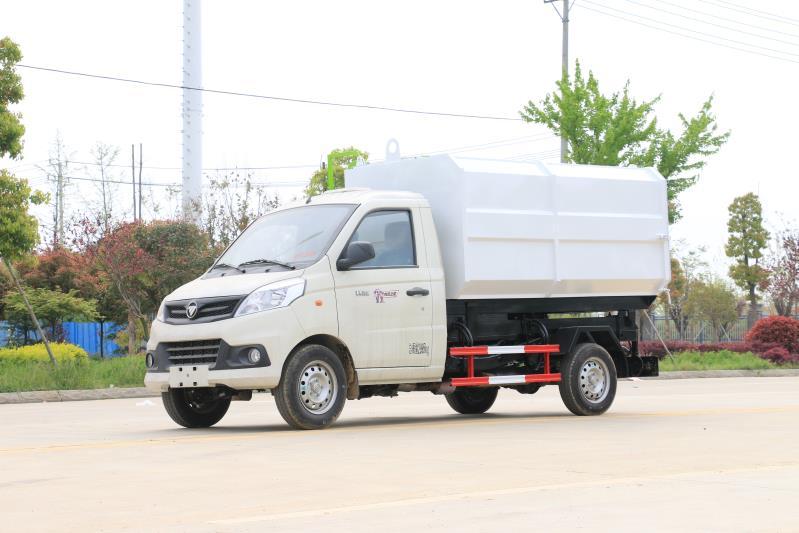 福田祥菱v1挂桶垃圾车厂家特价处理图片