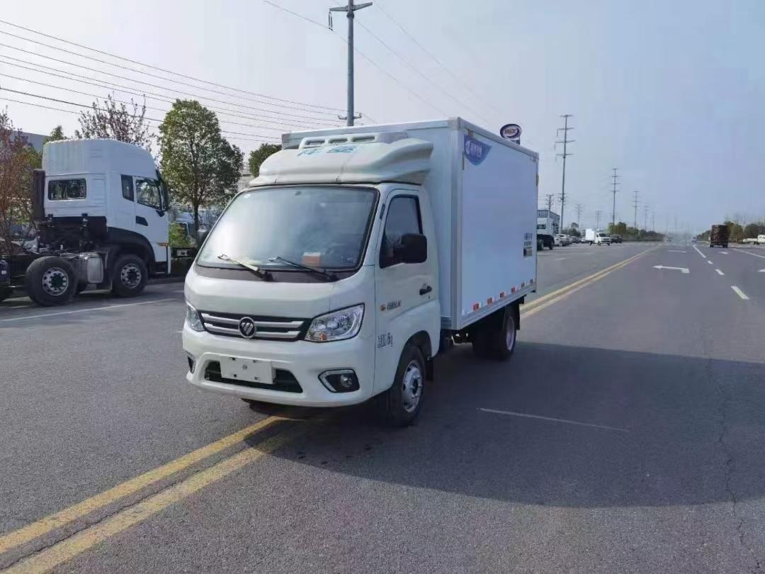 国六福田祥菱米M1冷藏车图片