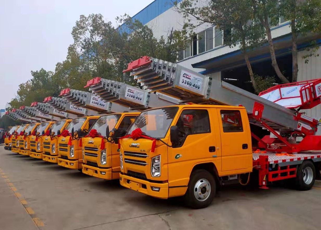 32米云梯車出廠價直銷上藍牌C證駕駛圖片