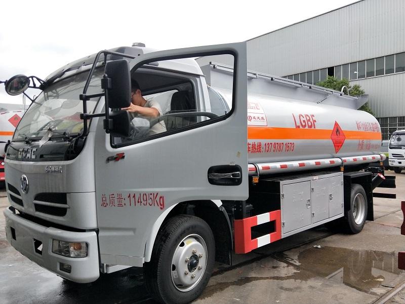 东风8吨油罐车现车 8吨流动加油车 10立方流动油罐车价格视频