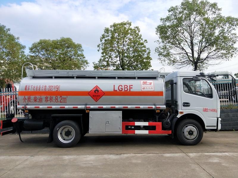 精品碳钢罐8吨油罐车手续齐全 油罐车配件 柴油8吨加油车运输 厂家大放送图片