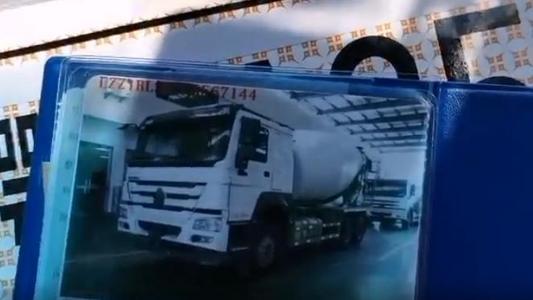 中国重汽豪沃经典款15方搅拌