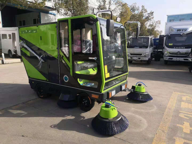 純電動城市掃地車廠家直銷圖片