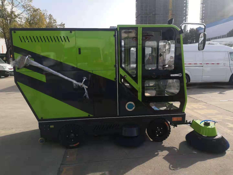 新能源純電動掃地車小型城市掃地車價格圖片