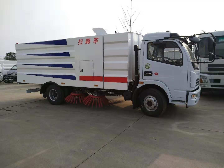 厂家供应国六8吨大多利卡高压洗扫车环卫首选车型