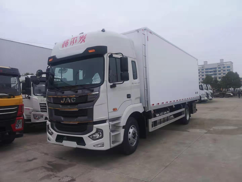 江淮7.2米冷藏车图片