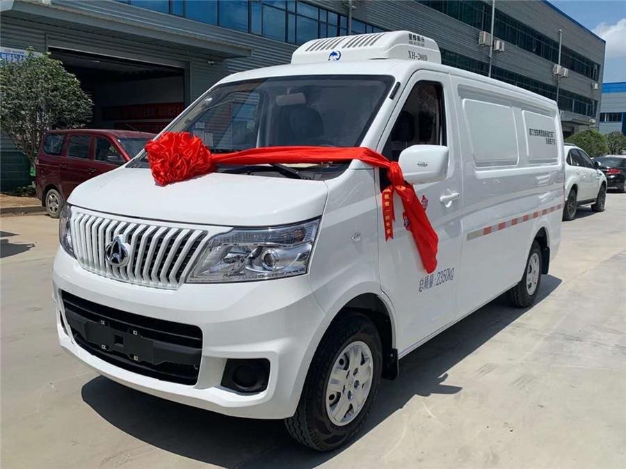 長安睿行M80 115馬力 2.3米面包冷藏車