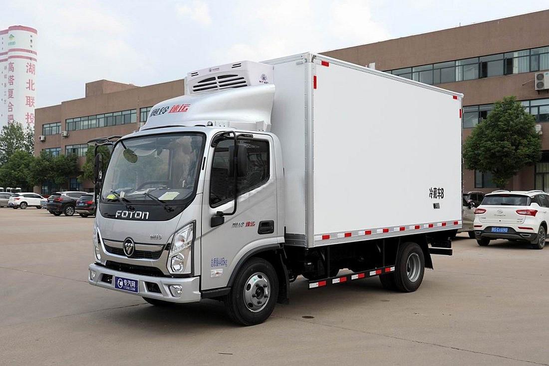 福田奧鈴速運 131馬力 4.08米冷藏車