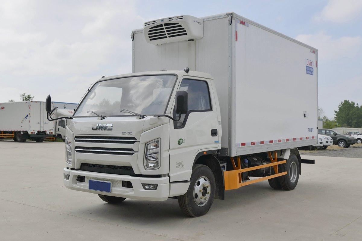 江鈴順達 129馬力 藍牌 4米冷藏車
