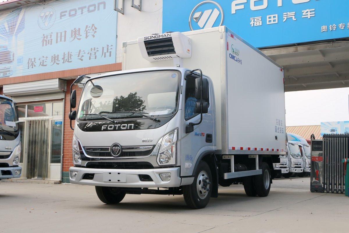 福田奧鈴CTS 藍牌 4米1冷藏車圖片
