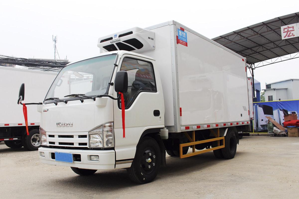 慶鈴五十鈴100P 120馬力 4米1冷藏車圖片