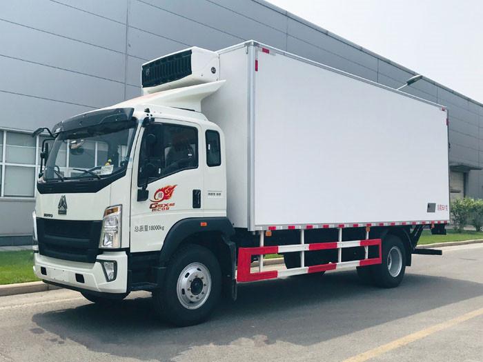 中國重汽豪沃G5X 210馬力 6.64米冷藏車圖片