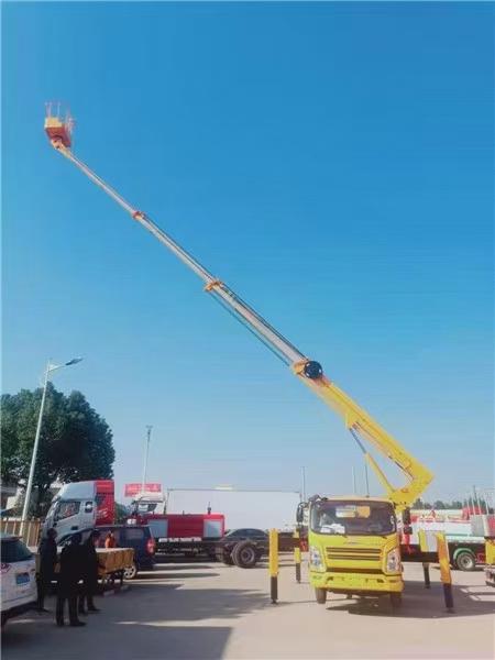 江铃22米直臂高空作业车价格图片