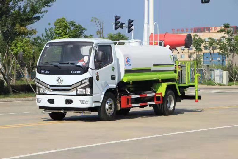 国六5吨洒水车配30米雾炮车全国直销处图片