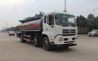 SCS5254GFWDFH腐蝕性物品罐式運輸車圖片