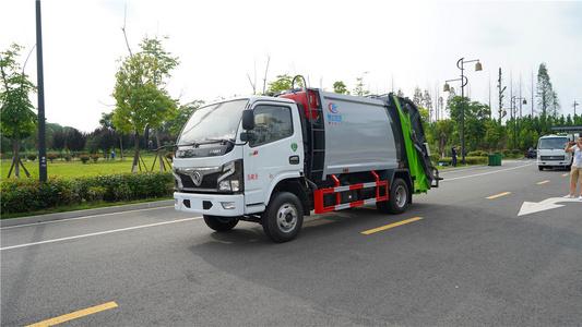 国六小福瑞卡5方3吨压缩垃圾车视频