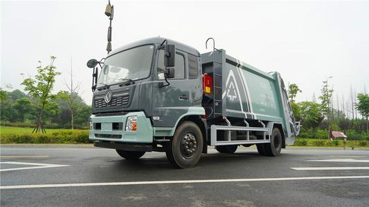 京牌天锦国六15方压缩垃圾车视频