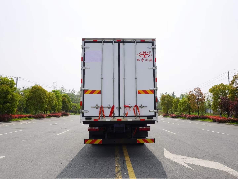 江淮格尔发A5w(高顶双卧)自动挡冷藏车厂家直销