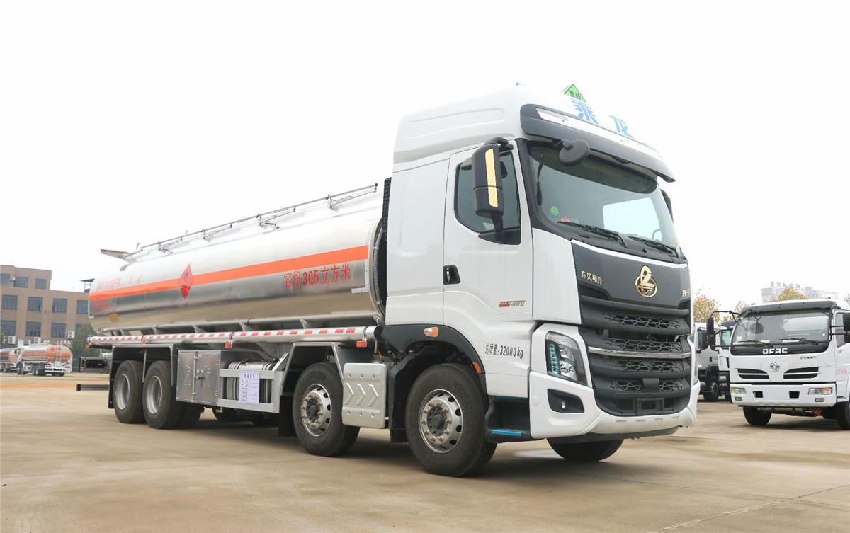 国六30.5方柳汽乘龙铝合金运油车大吨位高安全图片