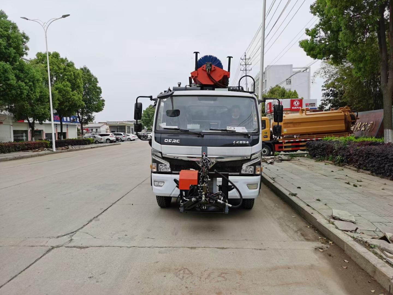 大鑫東風福瑞卡小8方壓縮垃圾車圖片