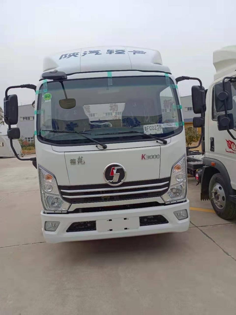 陕汽德龙轻卡中体手动挡国六130马力冷藏车厂家