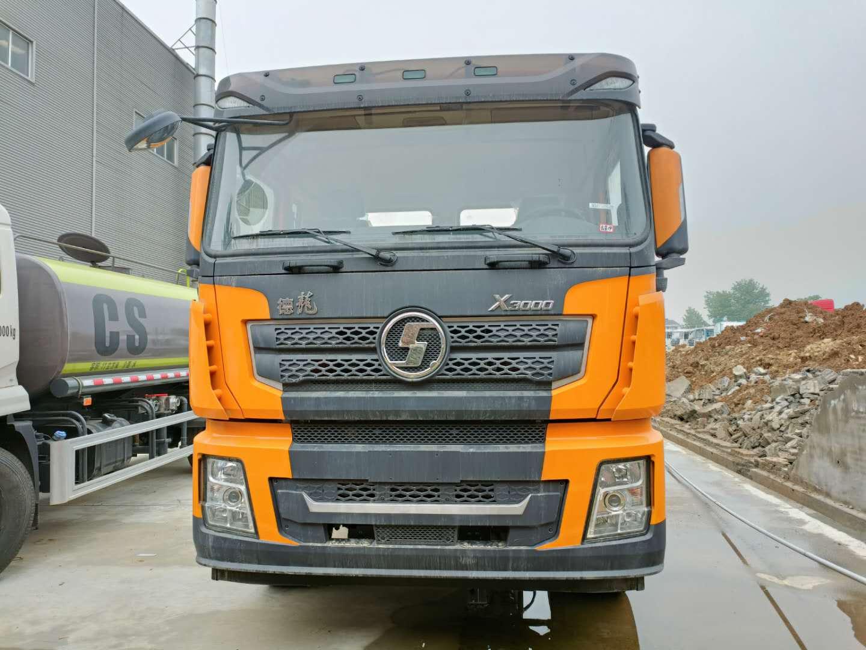 国六30吨陕汽德龙重型拖车5轴清障车价格图片厂家底盘460马力图片