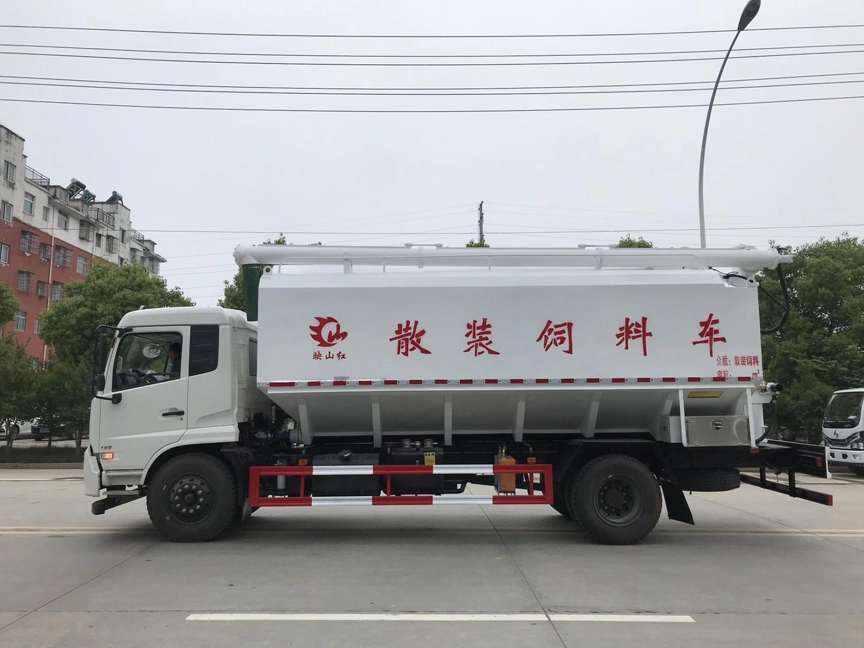东风天锦24方轻量化饲料车图片